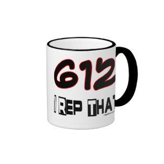 I Rep That 612 Area Code Mug