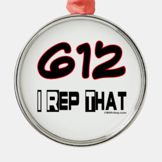I Rep That 612 Area Code Ornament