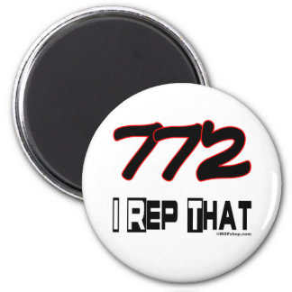 I Rep That 772 Area Code Magnets