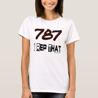I Rep That 787 Area Code T-Shirt
