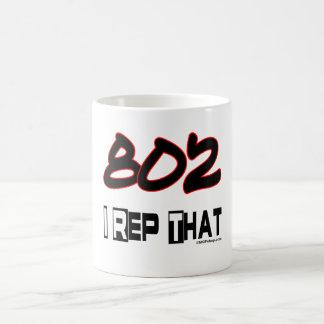 I Rep That 802 Area Code Coffee Mug