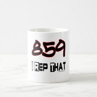 I Rep That 859 Area Code Coffee Mug