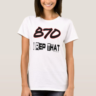 I Rep That 870 Area Code T-Shirt