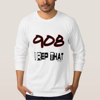 I Rep That 908 Area Code T-Shirt