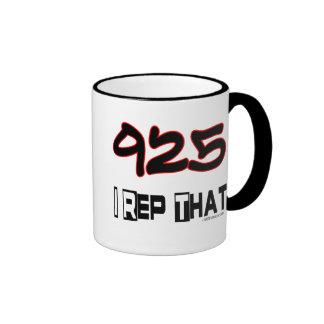I Rep That 925 Area Code Mug