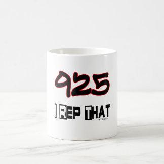 I Rep That 925 Area Code Coffee Mugs