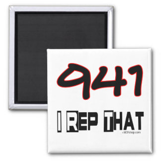 I Rep That 941 Area Code Refrigerator Magnets