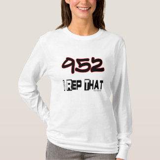 I Rep That 952 Area Code T-Shirt