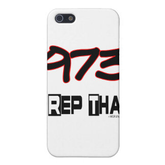 I Rep That 973 Area Code Case For iPhone SE/5/5s
