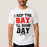 I-rep-the-Bay-outline T-Shirt