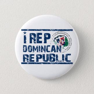 I rep the Dominican republic Button