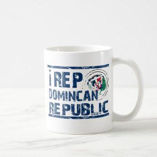I rep the Dominican republic Classic White Coffee Mug