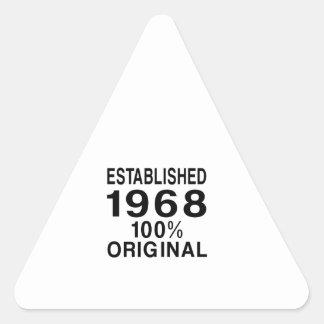 I Rep Triangle Sticker