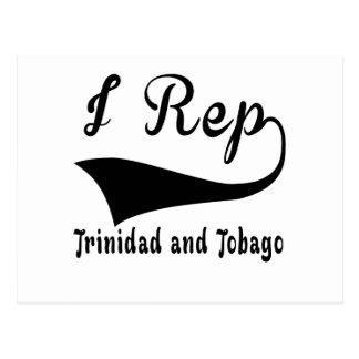 I Rep Trinidad and Tobago Postcard