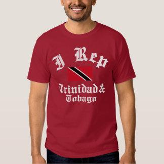 I rep Trinidad and Tobago T Shirt