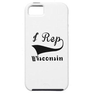 I Rep Wisconsin iPhone SE/5/5s Case