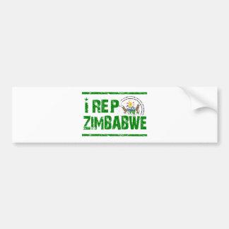 I rep Zimbabwe Bumper Stickers