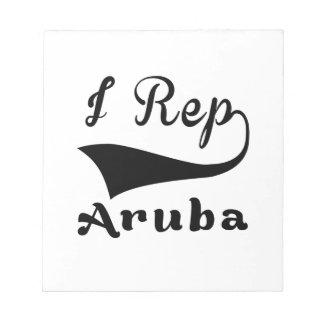 I representante Aruba Bloc De Notas
