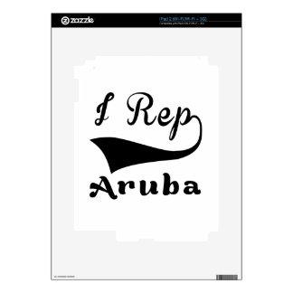 I representante Aruba Calcomanías Para El iPad 2