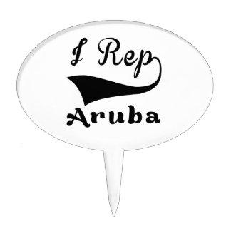 I representante Aruba Decoraciones Para Tartas