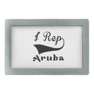 I representante Aruba Hebillas Cinturon Rectangulares