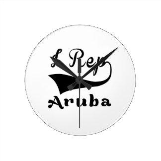 I representante Aruba Reloj Redondo Mediano