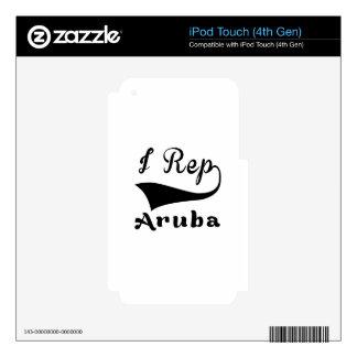 I representante Aruba Skins Para iPod Touch 4G