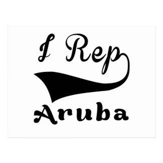 I representante Aruba Tarjetas Postales