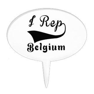 I representante Bélgica Decoraciones Para Tartas