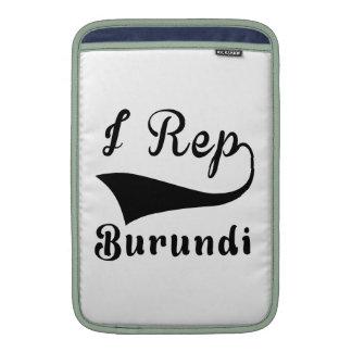 I representante Burundi Fundas Macbook Air