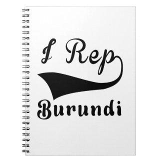 I representante Burundi Libretas