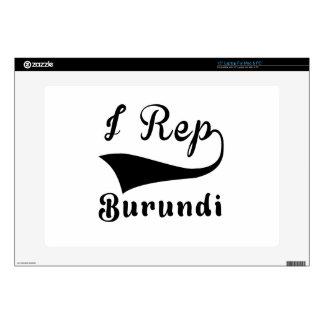 I representante Burundi Portátil Calcomanías