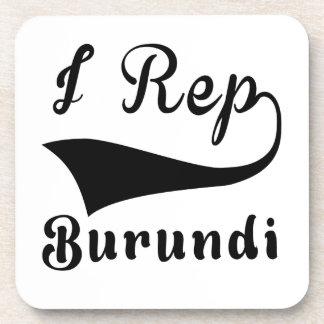 I representante Burundi Posavasos De Bebidas