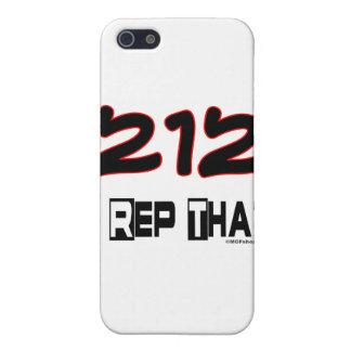 I representante ese código de área 212 iPhone 5 cárcasas