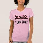 I representante ese código de área 252 camiseta