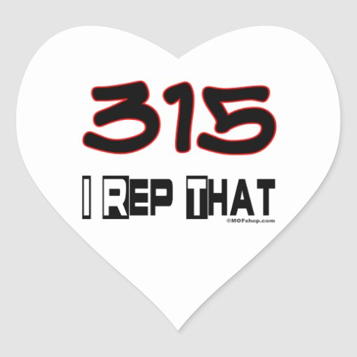 I representante ese código de área 315 colcomanias corazon