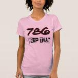 I representante ese código de área 786 camisetas