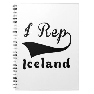I representante Islandia Spiral Notebooks