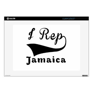 I representante Jamaica Portátil Calcomanía