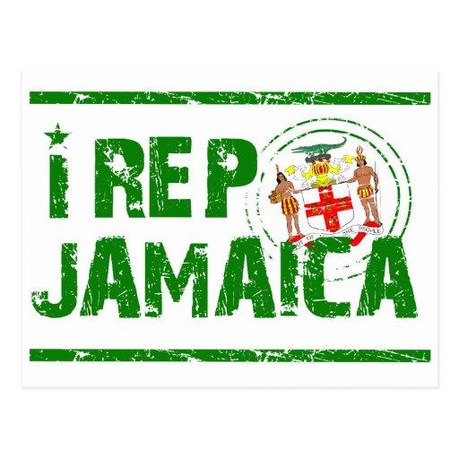 I representante Jamaica Tarjetas Postales