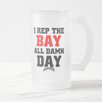 I representante la bahía taza de cristal