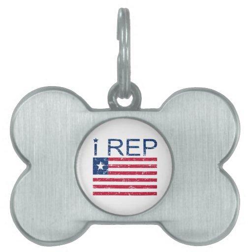 I representante Liberia Placa Mascota