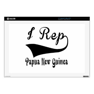 I representante Papúa Nueva Guinea Calcomanías Para Portátiles
