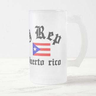 I representante Puerto Rico Taza De Cristal