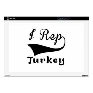 I representante Turquía Calcomanías Para 43,2cm Portátiles