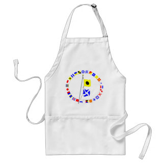 """""""I request to be escorted until further notice"""" Adult Apron"""