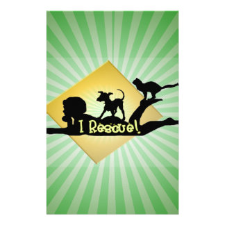 i RESCUE SILHOUETTE Stationery