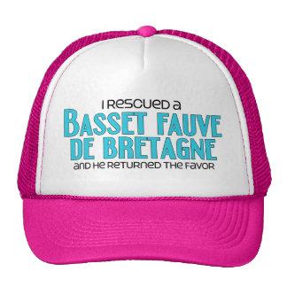 I Rescued a Basset Fauve de Bretagne (Male Dog) Trucker Hat