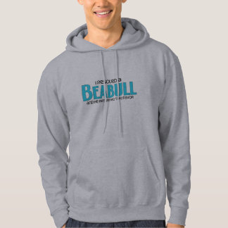 I Rescued a Beabull (Male) Dog Adoption Design Hoodie