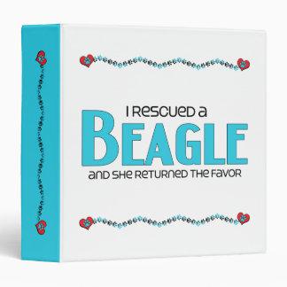 I Rescued a Beagle (Female Dog) Binder